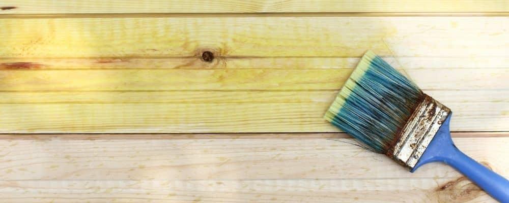 Holz wasserdicht machen