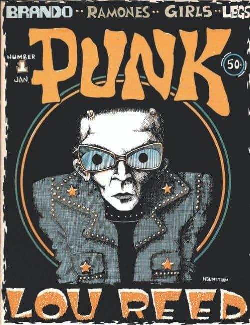erste Ausgabe des Punk Magazines